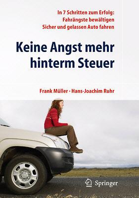 """Ratgeber """"Keine Angst mehr hinterm Steuer"""" - Cover des Ratgebers bei Amazon"""